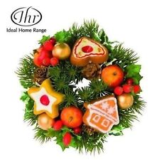 """Mini i.h.a.c.r. Ghirlanda-Christmas Candle Holder Centerpiece """"cookies"""""""