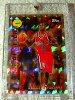 ALLEN IVERSON 1996 TOPPS DRAFT PICK REDEMPTION REFRACTOR FOIL ROOKIE #DP1 76ERS