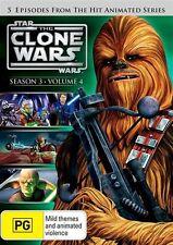 Star Wars - The Clone Wars - Animated Series : Season 3 : Vol 4 (DVD, 2012) D114