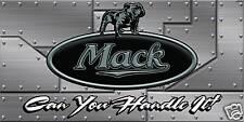 New listing Mack Truck Banner, Sign Flag Semi Truck Huge 2' x 4' Great Deal!