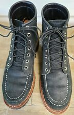 Chippewa Black Suede Boots 7.5
