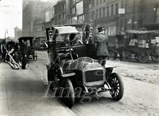 New York City Photo Motorized Chauffeured Hansom Cab 1896