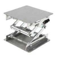 Lab Stand Scissor Lift laboratorio Jack 100x100x150mm Equipaggiamento fisico