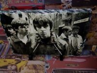 Oasis Band Liam Noel Gallagher Sketch Art Portrait Slate 8x6in rare memorabilia
