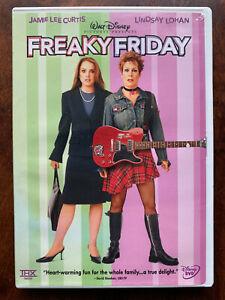 Freaky Friday DVD 2003 Body Swap Bomedy Walt Disney Classic Remake Region 1