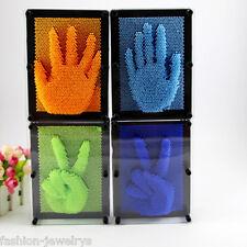 3D Clone Pin Art Carving Hand Shape Model Toy Children Kids Desktop Office Toys