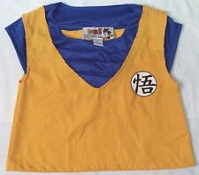 Dragon Ball Z Goku Holloween costume top/shirt youth sz M Dragonball
