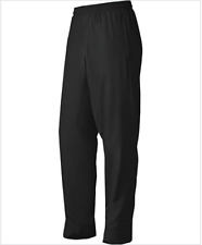 Mens Adidas Big Game Lined Warm Up Pants Size S Small Black White 9737A