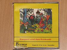 S8 - KASPERL UND DAS KROKODIL - 17 m - s/w HEIMFILM - PICCOLO 187