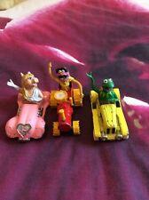 Rare Vintage Muppets In Corgi Cars Bundle Miss Piggy Kermit Frog & Animal
