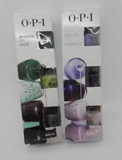 Opi Shades of Jade & Shades of Purple Mini Nail Polish Sets Total of 6 Bottles