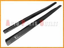 Carbon Fiber Side Skirt Add-on Lip Fit For 2007-2013 BMW E92 E93 w/ M-Sport Pack