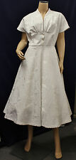 1940/50s Style Ivory Womens Ladies Wedding Dress WWII early 50's Wedding Dress