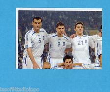 PANINI-EURO 2008-Figurina n.359- SQUADRA/TEAM 1/4 - GRECIA -NEW BLACK