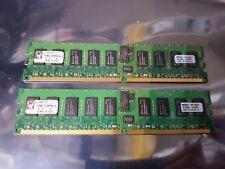 KINGSTON KVR667D2D8P5K2/4GB KIT DDR3 PC2-5300P 667MHz ECC REGISTERED MEMORY/RAM