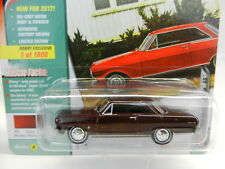2017 Johnny Lightning *CLASSIC GOLD Hobby EX* Maroon 1965 Chevy Nova SS *NIP*