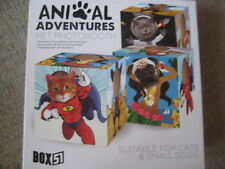New sealed Pet photo booth frame, animal adventures, for cat or small dog
