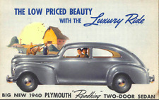 1940 Plymouth 4 Door Sedan Complete Master Rubber  Weatherstrip Kit!
