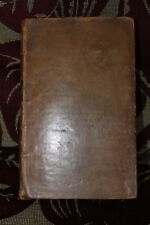 Plutarch's Lives By John & William Langhorne Vol II 1770 1st Edition