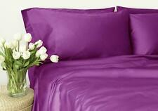 New Egyptian Comfort 1500 Count 4 Pieces Bed Sheet Set King Purple Good Deal !