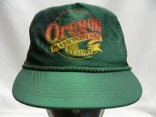 OREGON DIAMOND LAKE RESORT - NYLON - ADJUSTABLE STRAPBACK BALL CAP HAT!