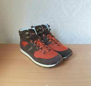 Clarks INCAST HIKER womens outdoor suede multi boots size UK 4 EUR 37 BNIB