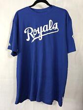 Royals Jersey Shirt Little League Baseball Size XL Blue Tshirt Athletic Sports
