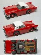 1992 TYCO TCR Wide Pan 1957 FORD THUNDERBIRD Slot less Car UNUSED Dan Tanner!