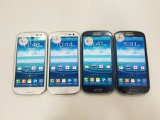 Lot of 4 Samsung Galaxy S3 SCH-I535 Verizon Check IMEI Poor Condition RJ-1383