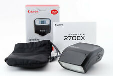 Box In [Excellent Canon Speedlite 270EX Shoe Mount Flash From Japan