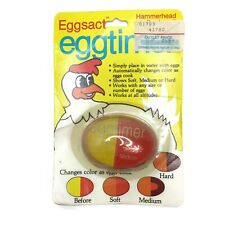 Vintage Hammerhead Products Eggsact Egg Timer Place In Water With Eggs New