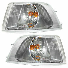 FIT FOR VOLVO S40 / V40 2001 2002 2003 2004 CORNER LAMP W/CHROME RIGHT & LEFT