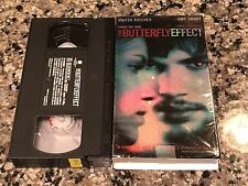 The Butterfly Effect VHS! 2004 Sci-Fi Thriller! Frequency The Jacket 12 Monkeys