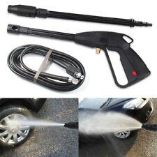 High Pressure Washer Spray Gun 120 Bar Jet Lance Trigger Wash Water And 5m Hoses