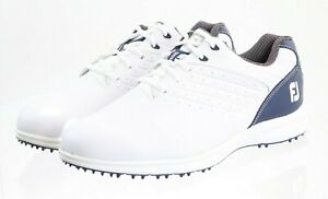 Footjoy Arc SL Men's Spikeless Golf Shoes Size 9.5 Wide Leather White