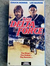 The Delta Force (VHS, 1986) - LEE MARVIN / CHUCK NORRIS - awesome action