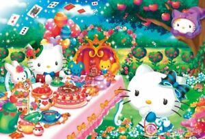 1000 Piece Jigsaw Hello Kitty Tea Party (49 x 72 cm)