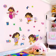 Dora L'Exploratrice Chaussures Singe autocollant mural décoration Filles Enfants