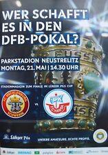 Pokalfinale MV Hansa Rostock - Mecklenburg Schwerin 21.05.2018 in Neustrelitz