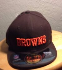 best authentic 2874b 362fc CLEVELAND BROWNS SHARP Looking New ERA FITTED 6 1 2 Cap NWT