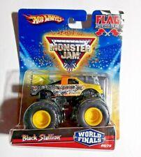 Hot Wheels Monster Jam Flag Series Black Stallion World Finals 2010 66/75 Series