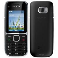 Cheapest Nokia C2-01 Black 3G 3.2MP Unlocked Black AU Seller Ship From Sydney