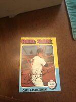 1975 Topps Carl Yastrzemski Boston Red Sox #280 Baseball Card
