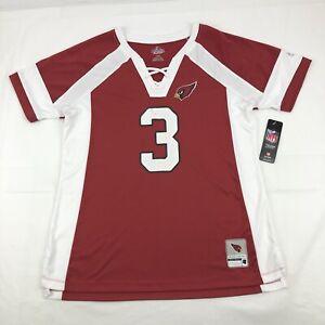 Majestic Fan Fashion Arizona Cardinals Palmer 3 Jersey Shirt Womens Size Large