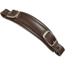 Replacement Gibson® Style Brown Leather Guitar Hardshell Case Handle CP-9951-036