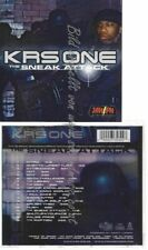 CD--KRS-ONE | --SNEAK ATTACK
