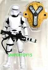 "Loose First Order Flametrooper Star Wars 3 3/4"" The Force Awakens Snow Desert"