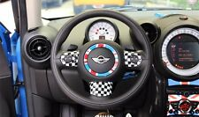Steering Wheel Cover Dashboard For BMW Mini Cooper PACEMAN Countryman CLUBMAN 03