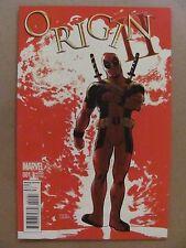 Origin II #1 Marvel Comics 2014 Series Deadpool Variant Wolverine 9.6 Near Mint+