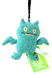 NEW  ICE BAT  Back Pack Clip Ugly Doll #20071 by Pretty Ugly LLC 4 inches 2012